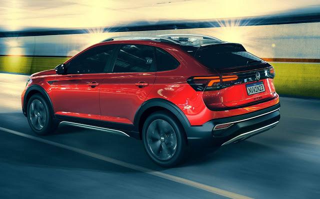 Novo Volkswagen Nivus: fotos oficias do SUV compacto