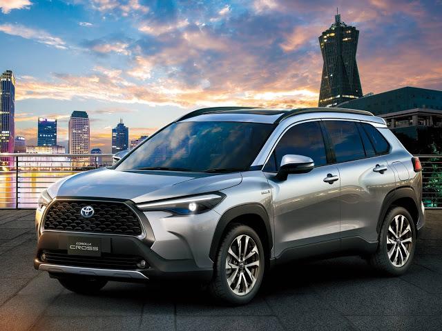 Toyota Corolla Cross: novo SUV chega ao Brasil em 2021
