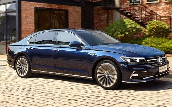 VW Phideon 2021 tem facelift e mais luxo, mas só para China