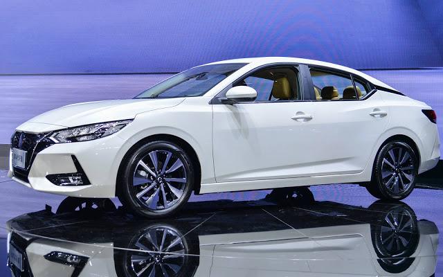 Novo Nissan Sentra 2020 apresentado em Shanghai - fotos