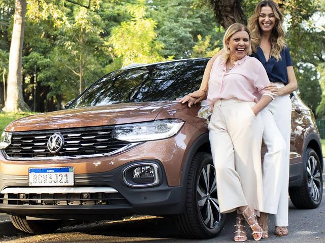 VW T-Cross é apresentado no programa Saia Justa da GNT