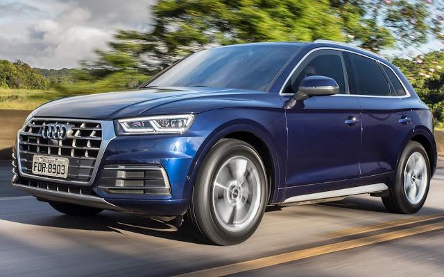 Audi oferece descontos de até R$ 40 mil e taxa zero em abril