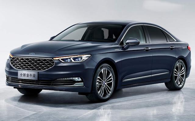 Ford Taurus 2019 Vignale apresentado na China - fotos